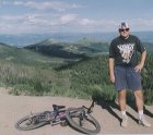 Mountain biking in the Wasatch Mountains