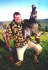 My first turkey - a big jake taken in the northern California.